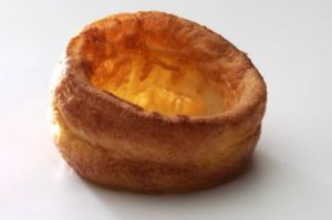 Single Yorkshire Pudding for cut outKeywords: Baking Batter source: FOODPIX